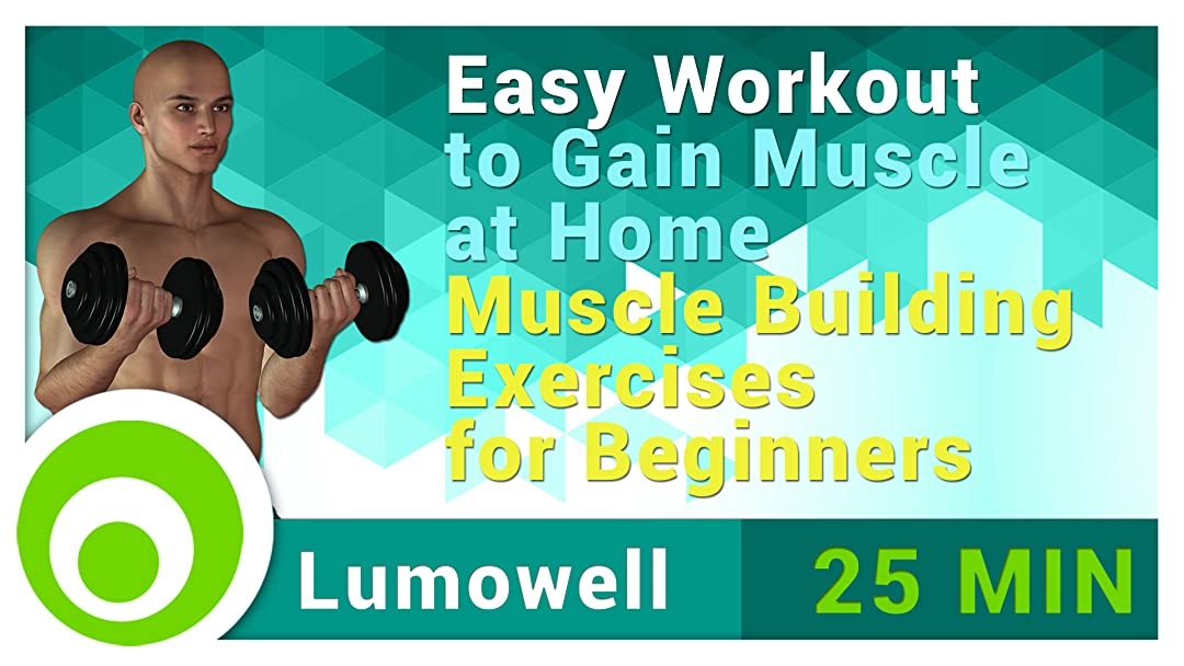 Amazon com: Watch Easy Workout to Gain Muscle at Home
