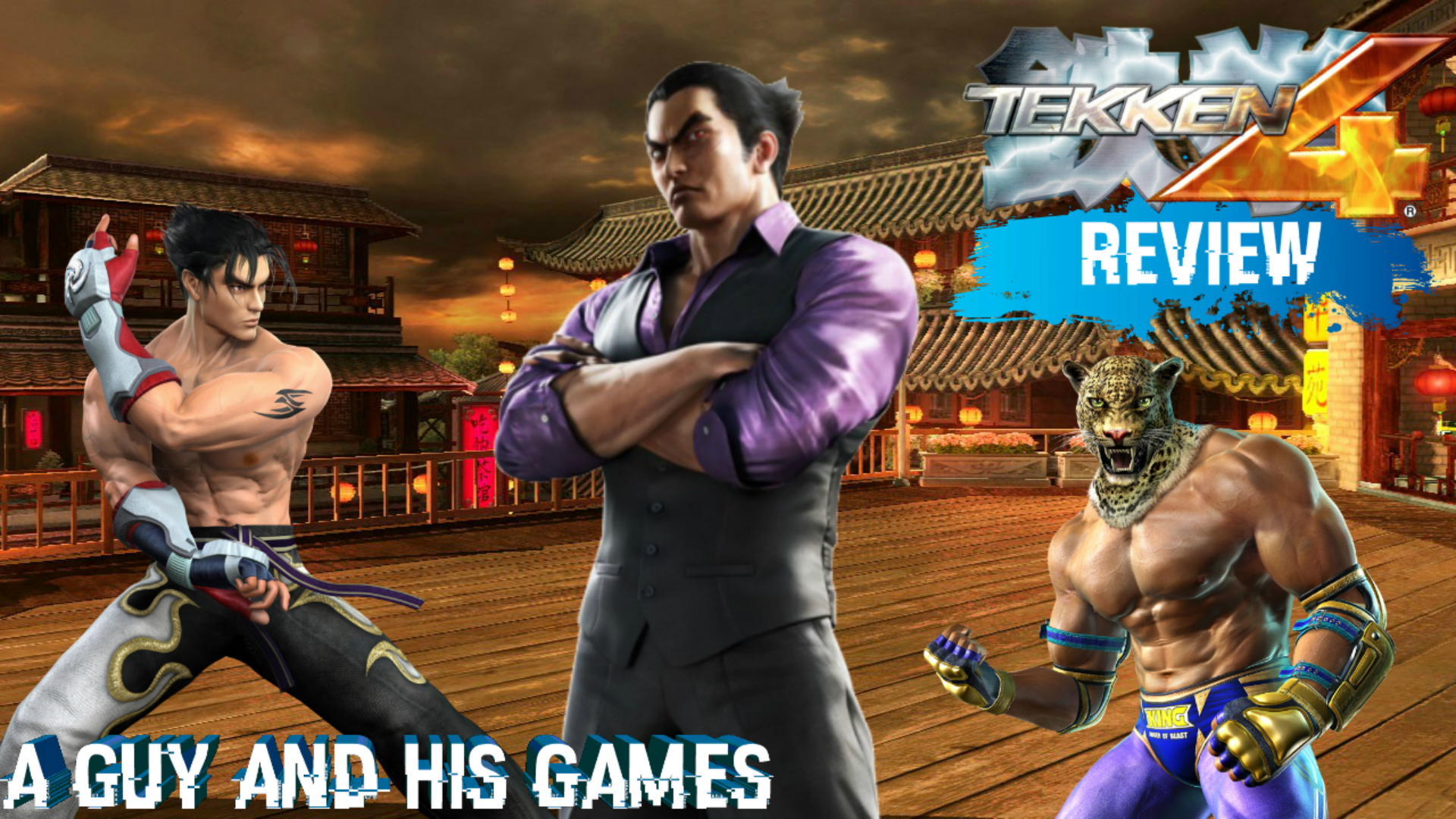Amazon Com Watch Review Tekken 4 A Guy And His Games Review
