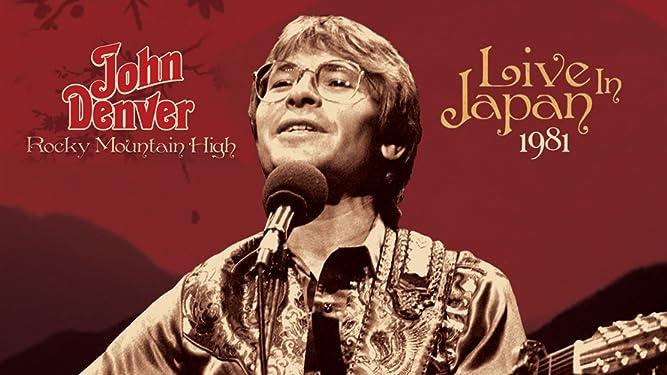 John Denver - Rocky Mountain High Live In Japan 1981