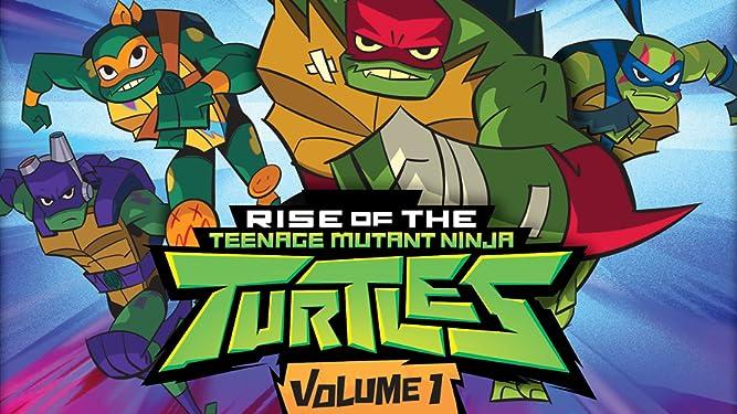 Amazon.com: Rise of the Teenage Mutant Ninja Turtles: Volume 1
