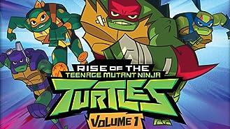 Rise of the Teenage Mutant Ninja Turtles: Volume 1