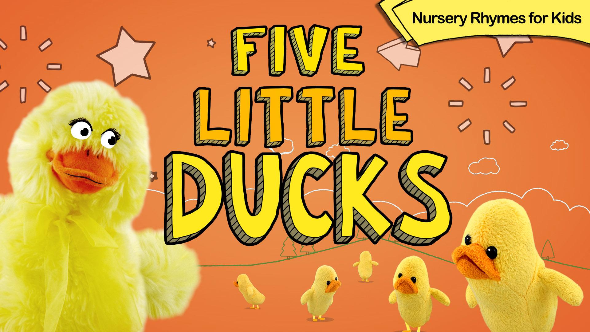 Five Little Ducks - Nursery Rhymes for Kids