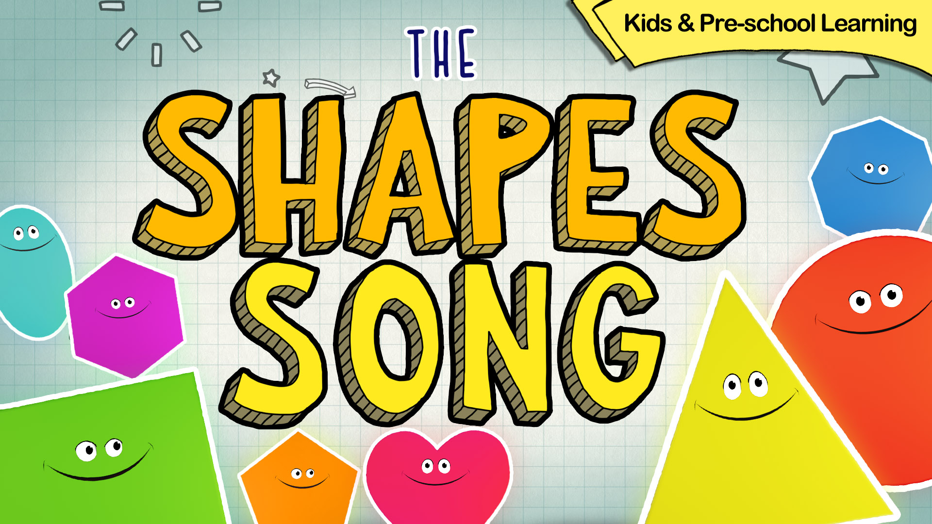 The Shapes Song, Kids and Pre-school Learning