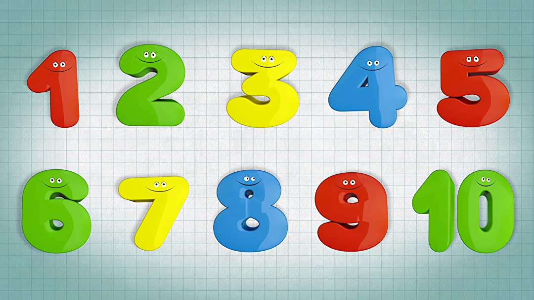 Amazon Com  The Numbers Song  Learn Counting For Kids