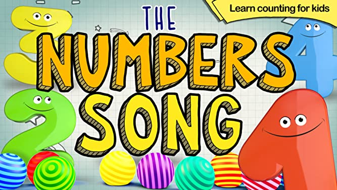 The Numbers Song, Learn Counting for Kids