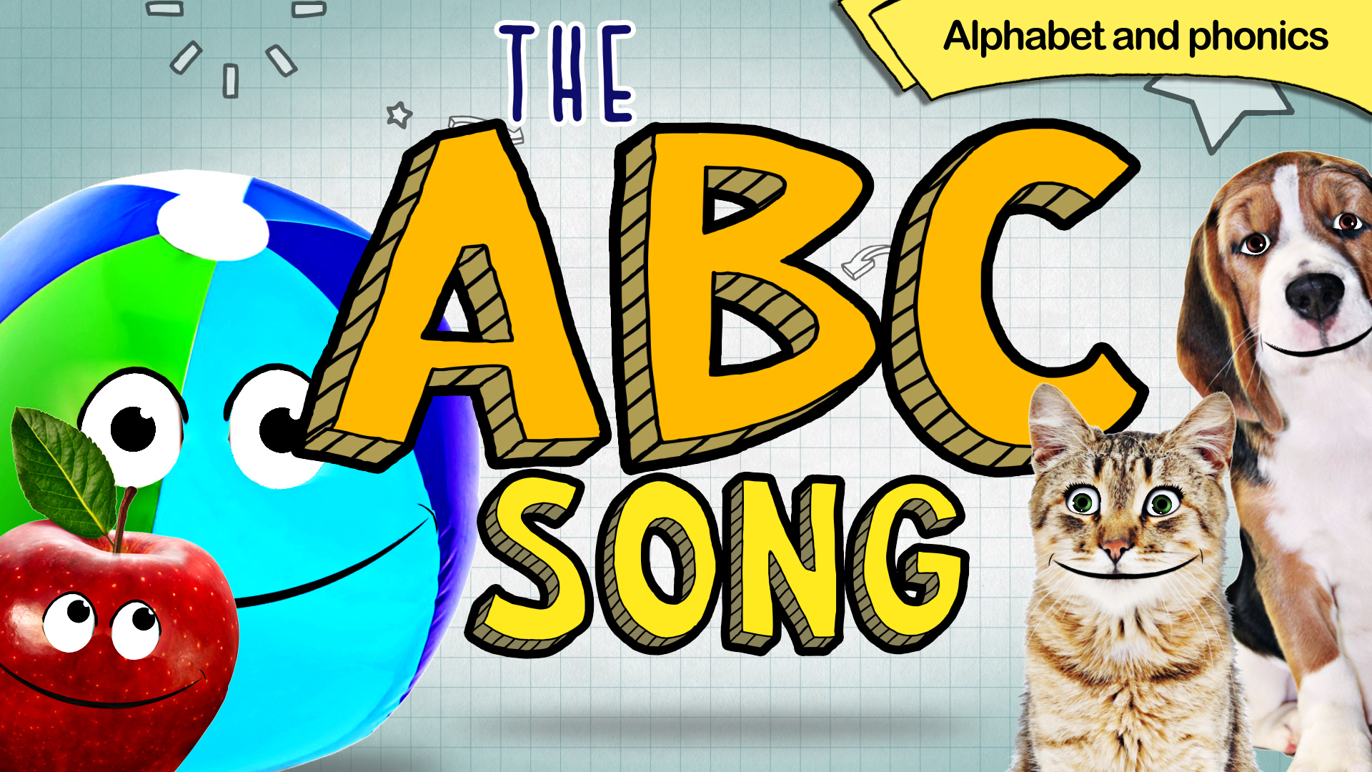 The ABC Song, Alphabet and Phonics