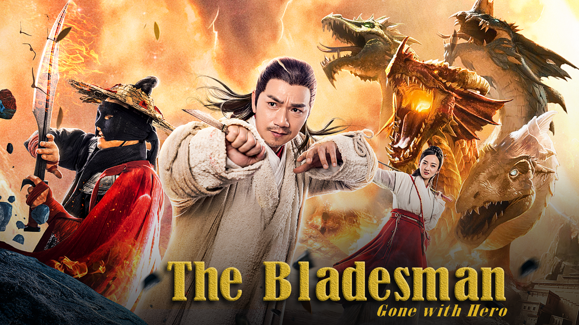 The Bladesman, Gone With Hero