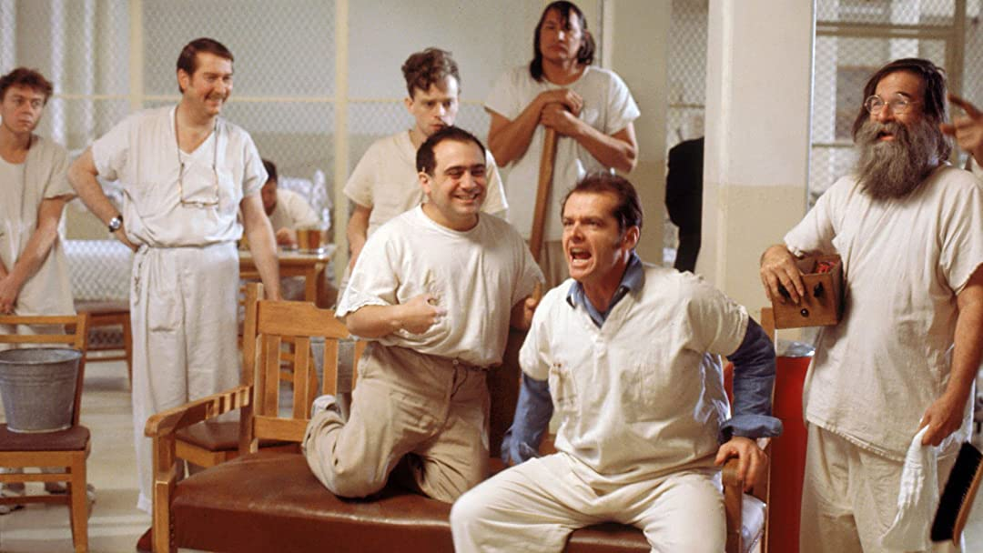 Image result for one flew over the cuckoo's nest movie