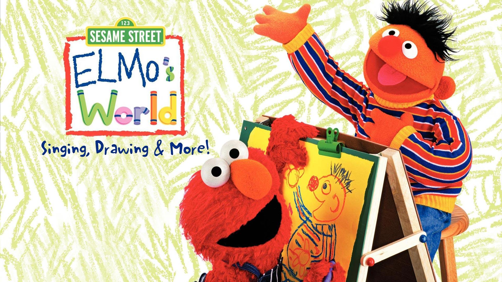 Elmo's World: Singing, Drawing, & More