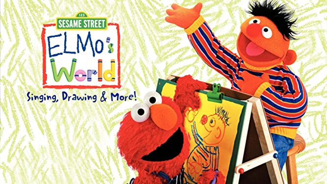 Watch Elmo S World Singing Drawing More Prime Video