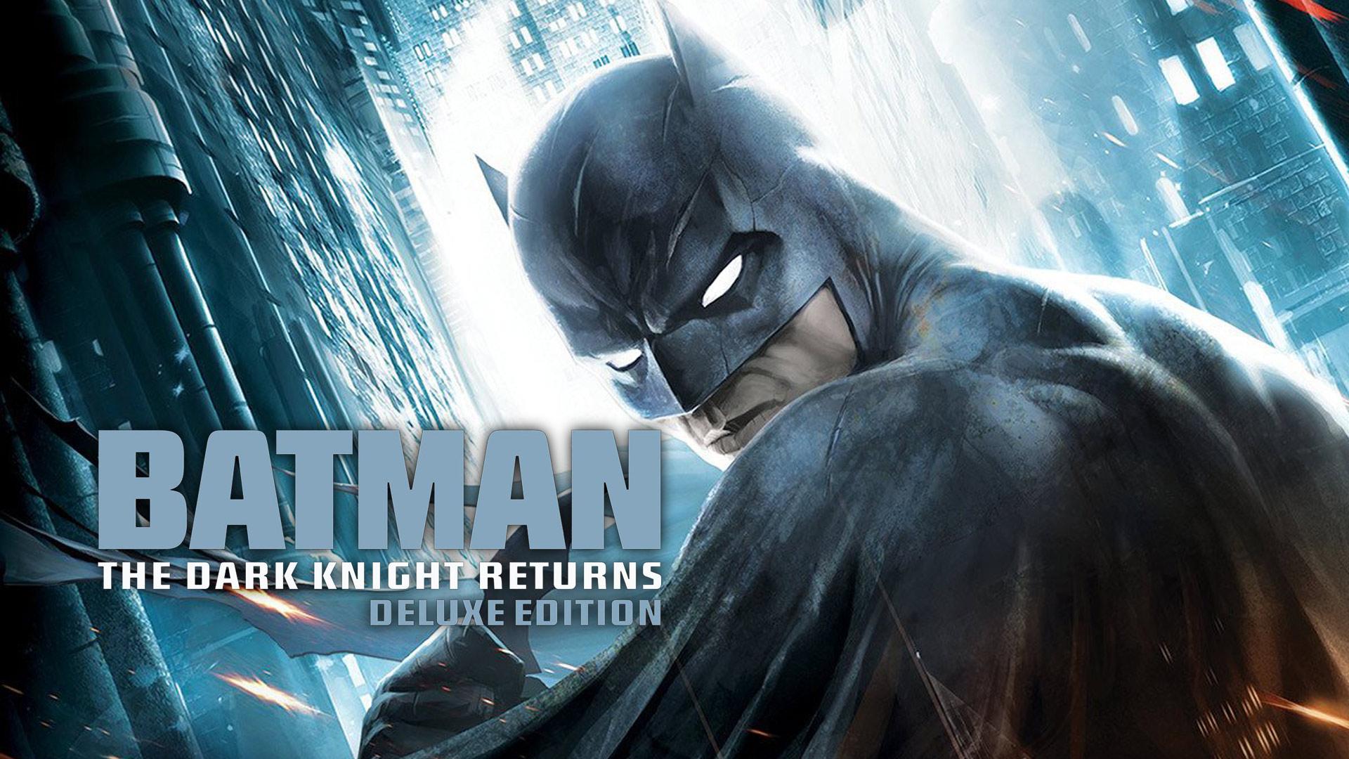 Batman: The Dark Knight Returns Deluxe Edition