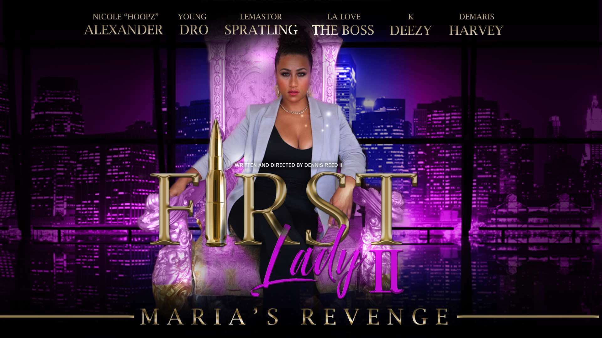 First Lady 2 Maria's Revenge