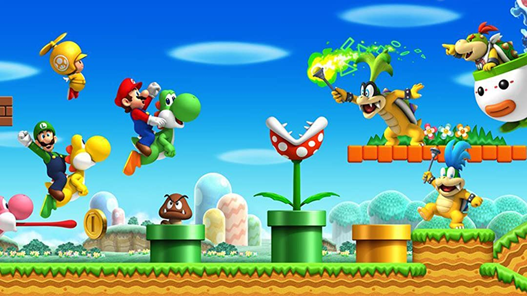 Amazon Com Watch Clip New Super Mario Bros Wii Playthrough