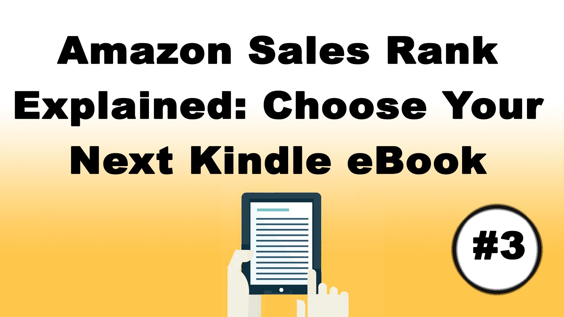what is amazon sales rank