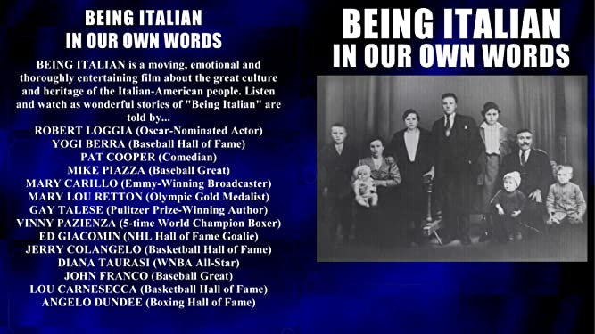 Being Italian: In Our Own Words