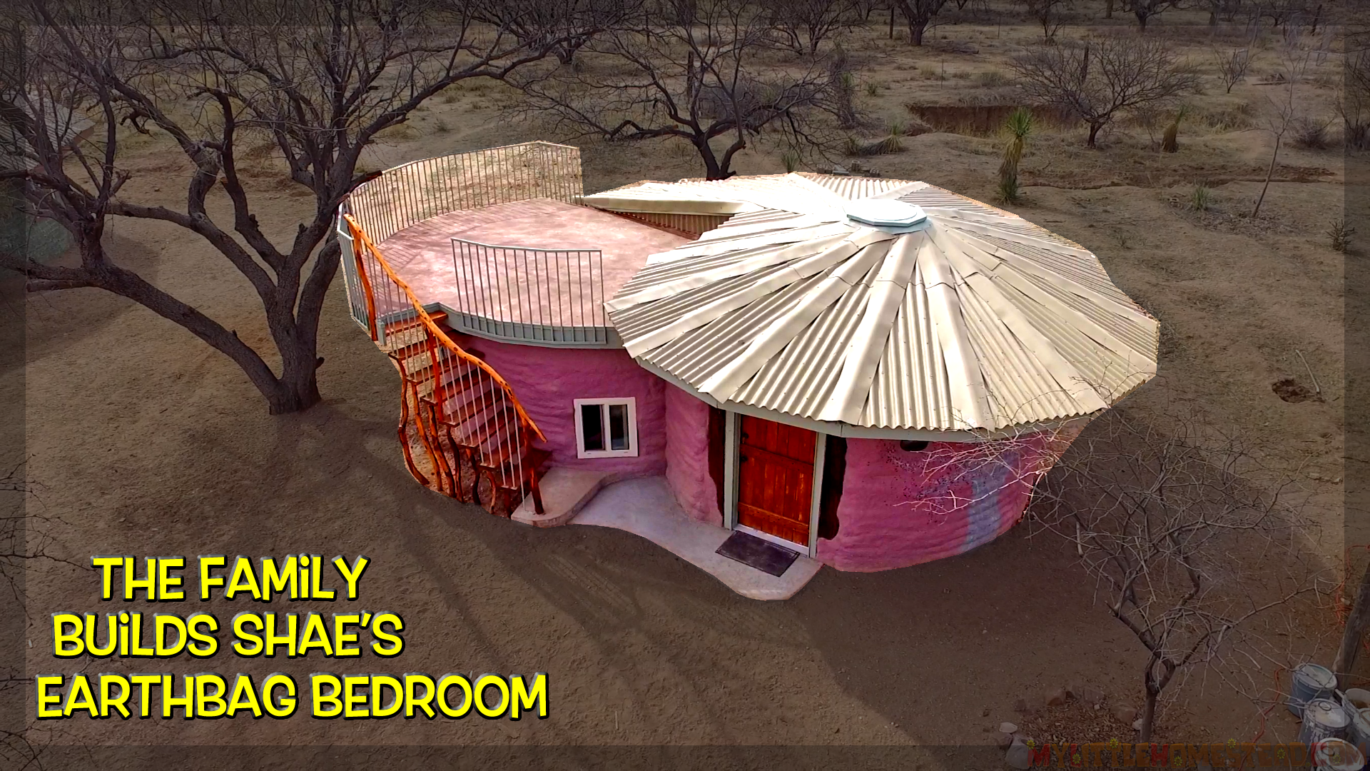 The Family Builds Shae's Earthbag Bedroom