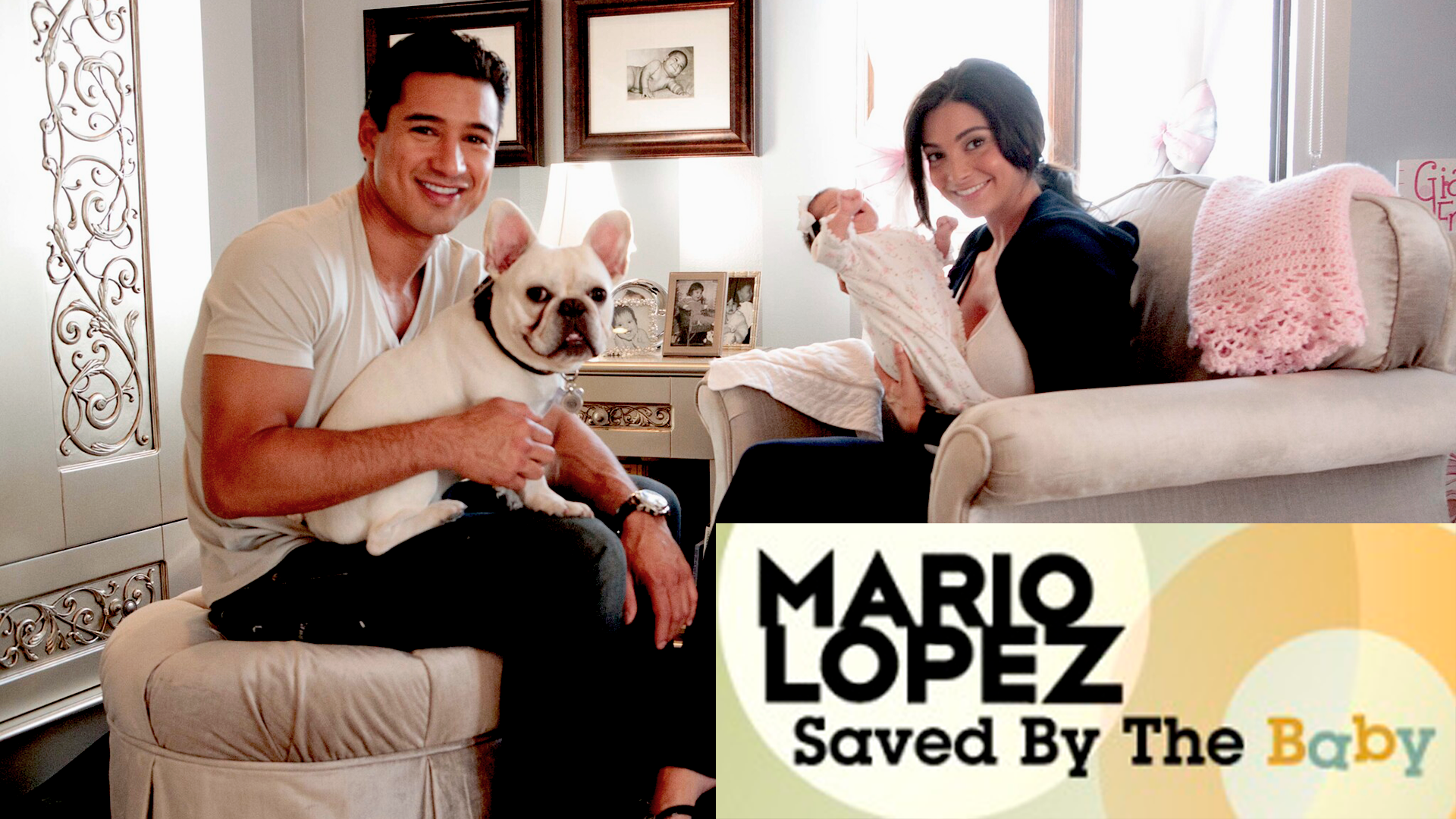Mario Lopez Saved By The Baby