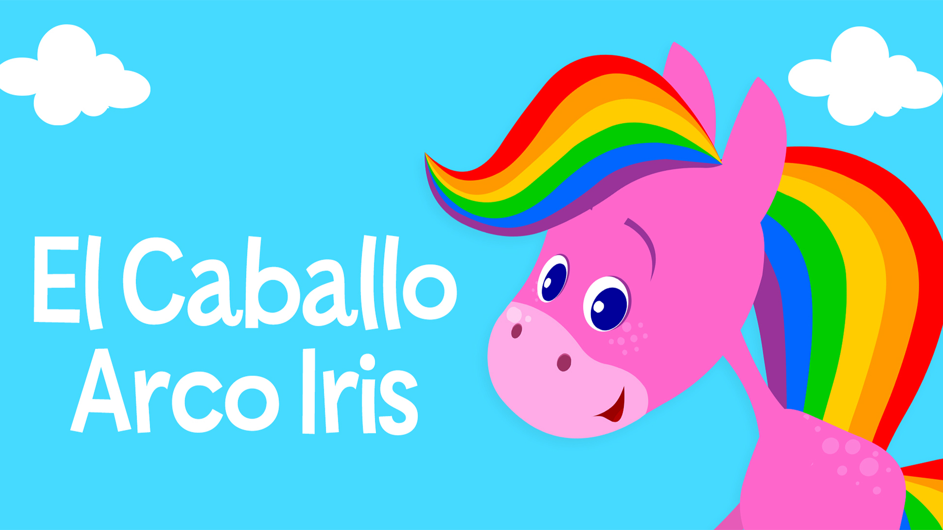 Rainbow Horse: Primary Colors for Babies (Spanish audio)