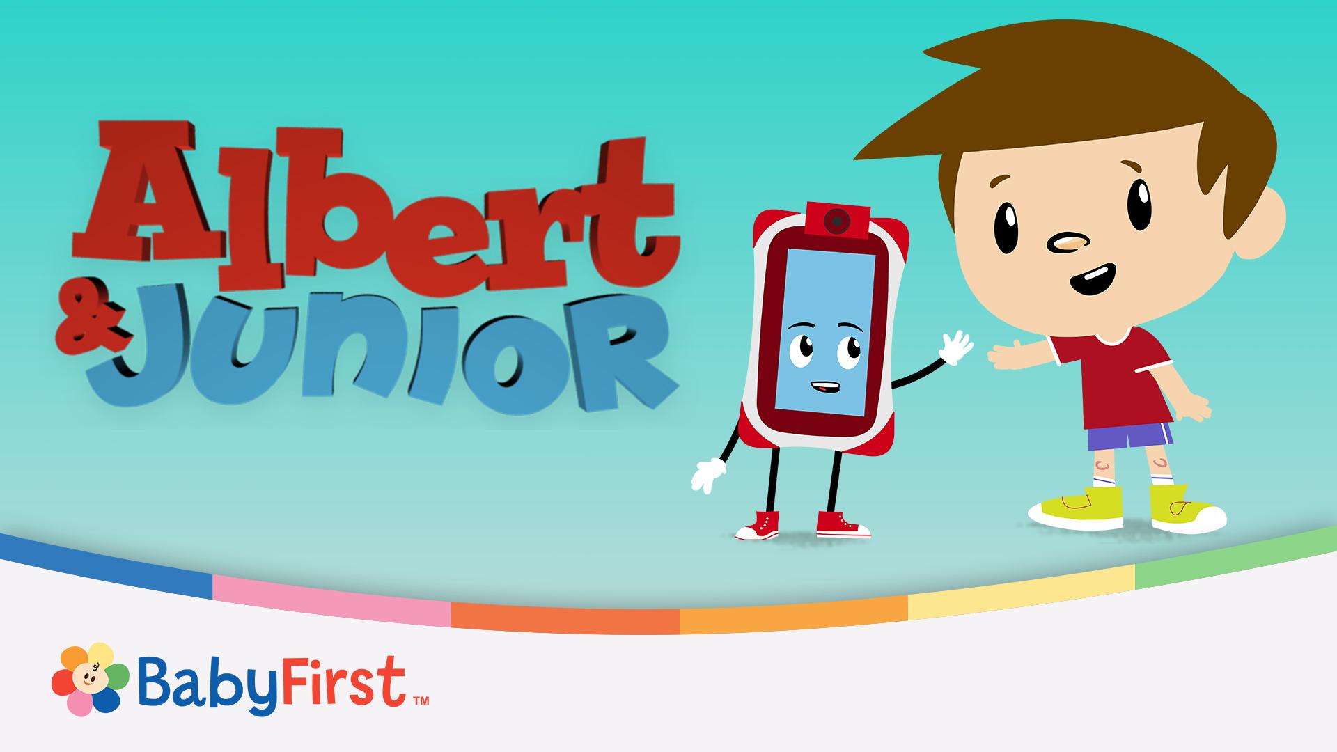 Albert & Junior: Journey of discovery for babies