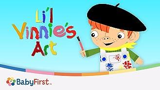 Fun Kid's Art With Li'l Vinnie Series