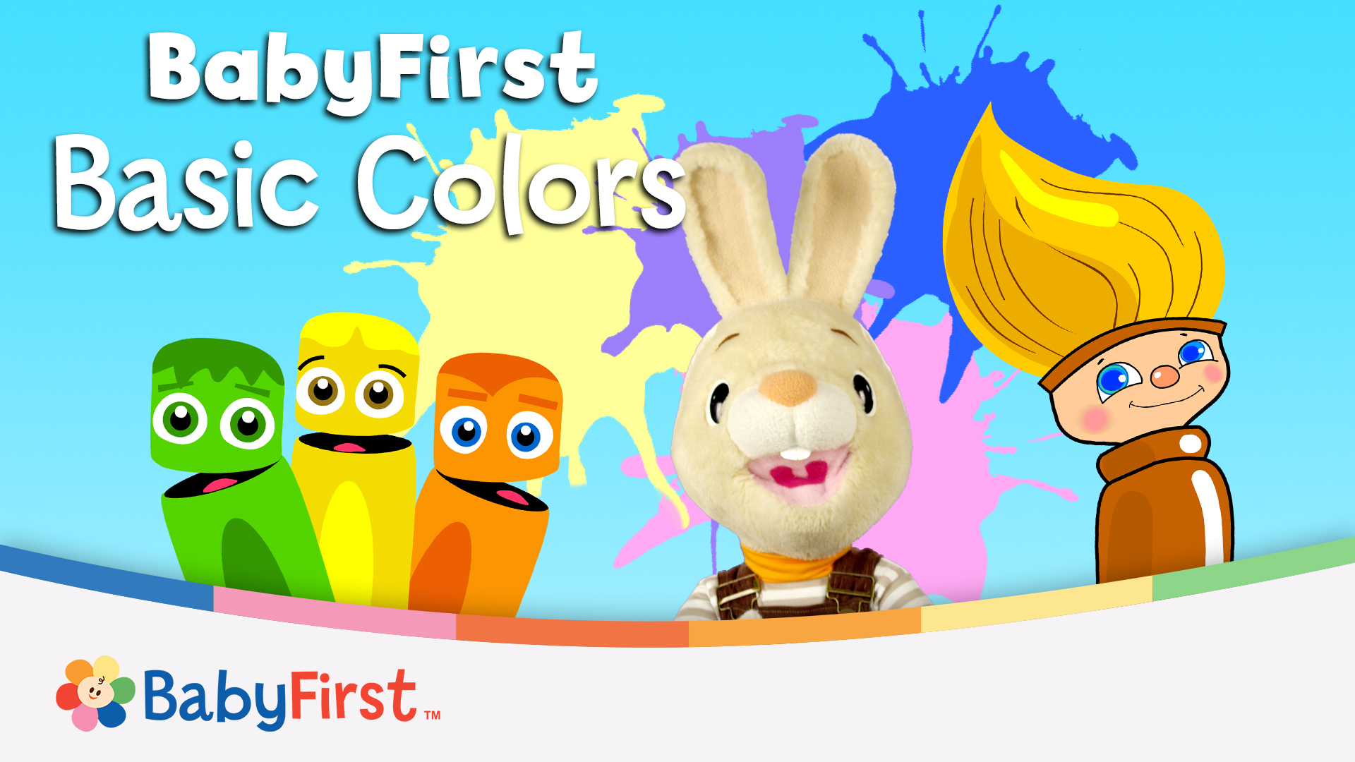 Basic Colors: Primary Colors and Art for Babies