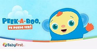 Peekaboo I See You: Play Hide and Seek for babies (Spanish Audio)