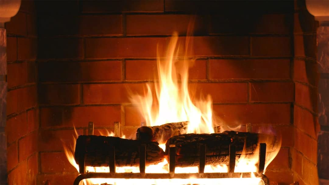 Amazon.com: Watch Burning Fireplace Crackling Fire | Prime