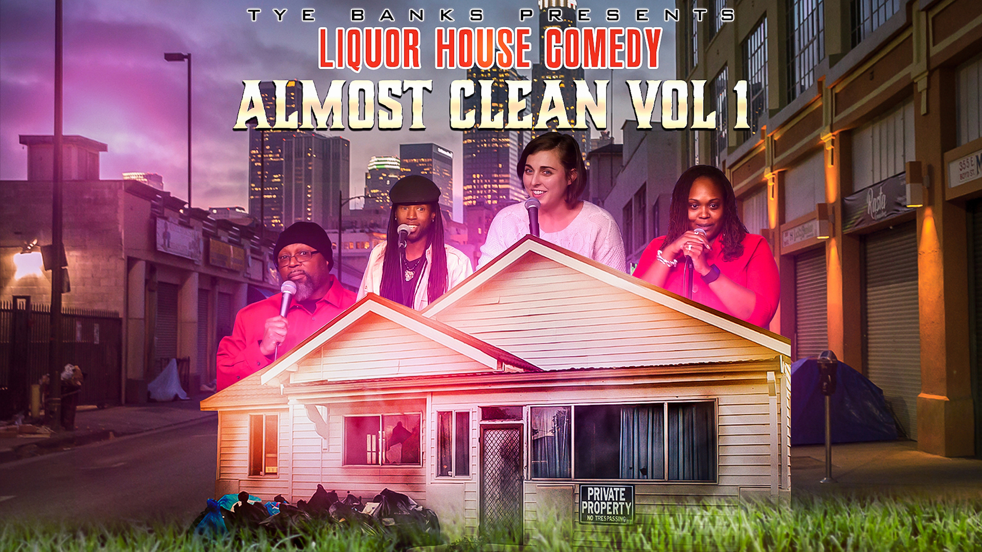 Liquor House Comedy Almost Clean, Vol. 1