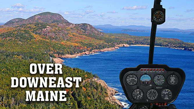 Over Downeast Maine