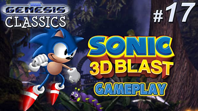 Amazon Com Watch Clip Sonic 3d Blast Gameplay Genesis Classics