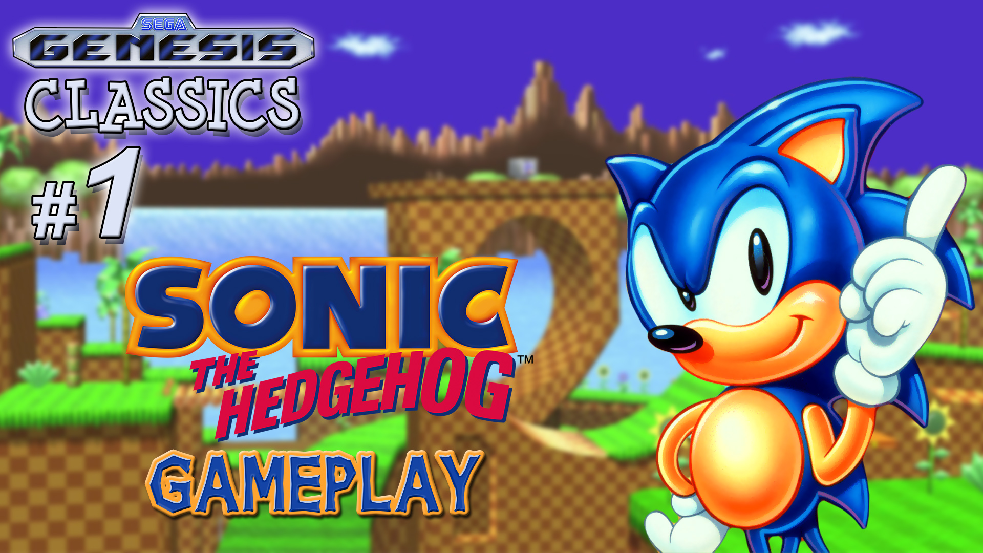 original sonic the hedgehog gameplay