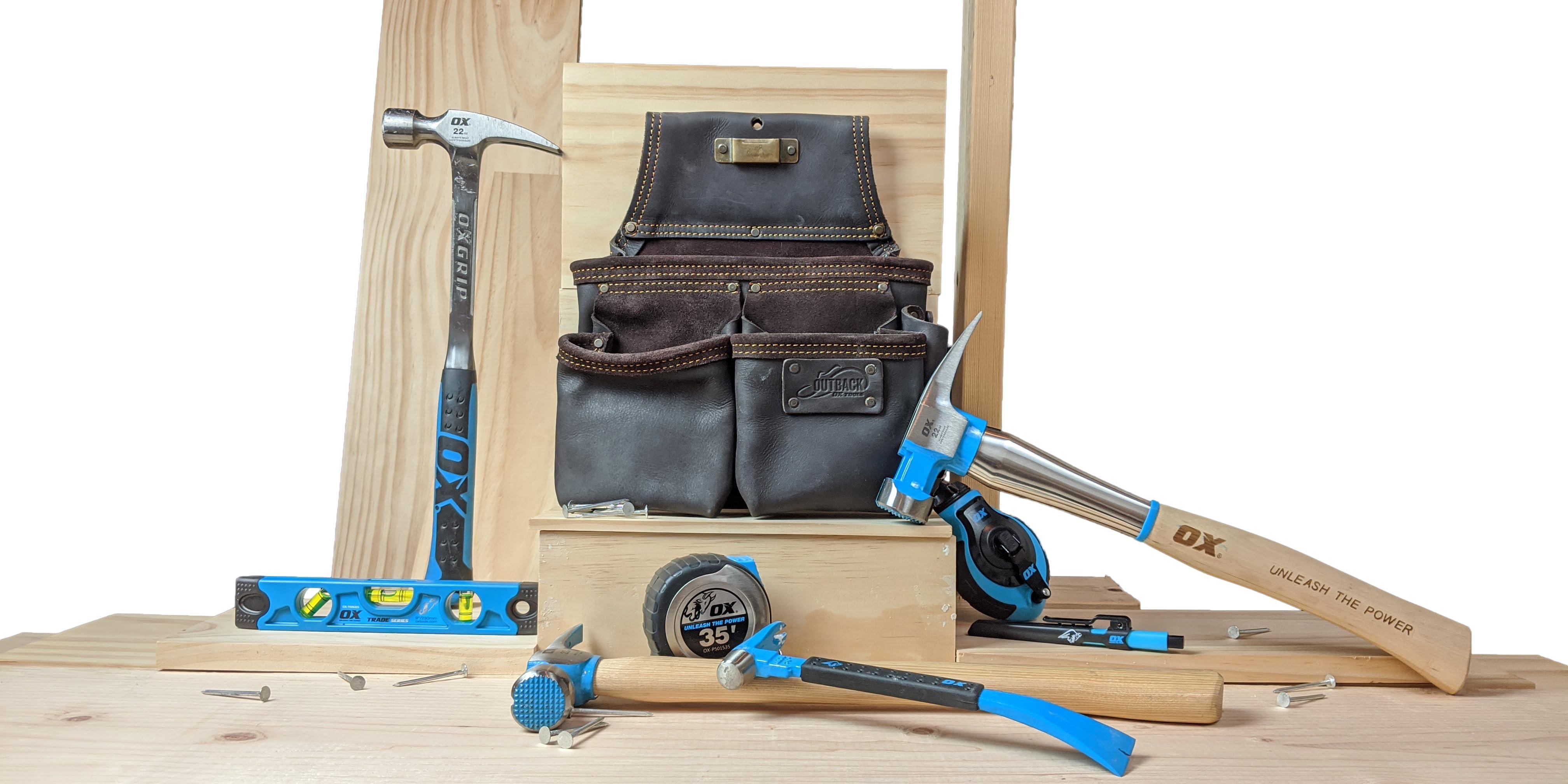 OX Tools OX-P011018 OX Pro Paleta de yeseros de Acero inoxidable-127 X 457mm Multi-colour 127 x 457 mm