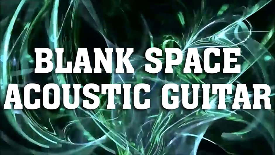 Amazon Blank Space Taylor Swift Song Cover Acoustic Guitar