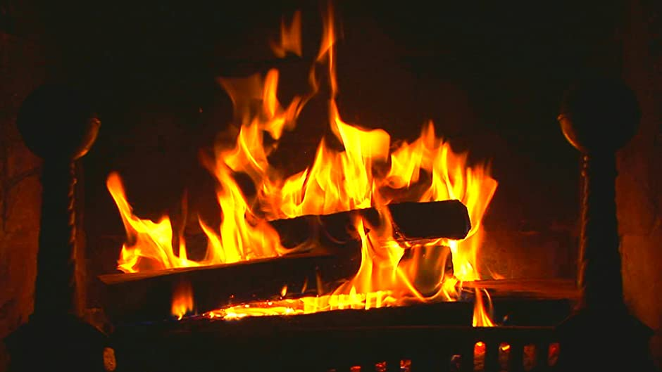 Amazon.com: Fireplace Instant Video : Natural Wood Burning Fire ...