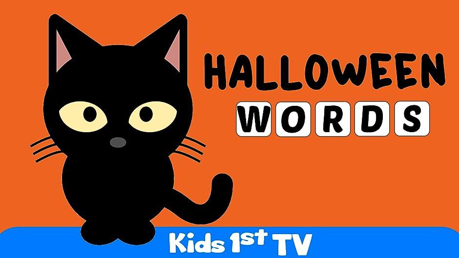 Amazon.com: Halloween Words - Halloween Video For Kids: Kids 1st ...