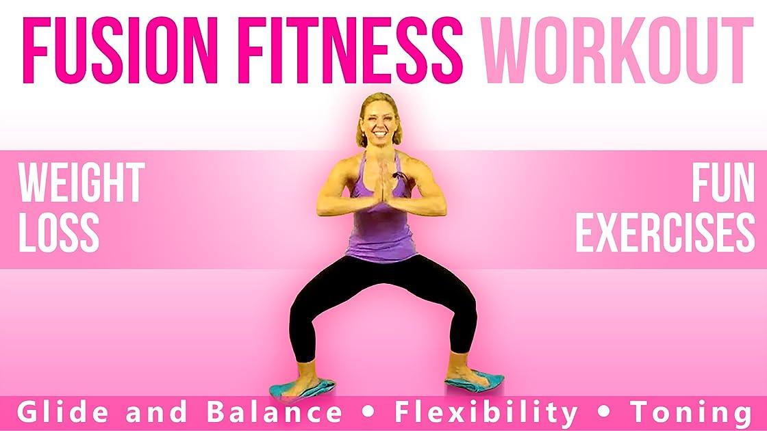 Yoga - Pilates - Cardio Fusion: The Glide Fitness Workount